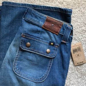 Lucky Brand Jeans Charlie Flare Size 0/25 NWT